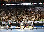 10.01.2019, Mercedes Benz Arena, Berlin, GER, Handball WM 2019, Deutschland vs. Korea, im Bild <br /> Hallenuebersicht, Spiel<br />      <br /> Foto © nordphoto / Engler