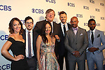 Joel McHale and cast The Great Indoors - CBS Upfront 2016 - Oak Room, New York City, New York.  (Photo by Sue Coflin/Max Photos)