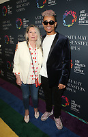 LOS ANGELES, CA -APRIL 7: Ariadne Getty, Leven Kali, at Grand Opening Of The Los Angeles LGBT Center's Anita May Rosenstein Campus at Anita May Rosenstein Campus in Los Angeles, California on April 7, 2019.<br /> CAP/MPIFS<br /> ©MPIFS/Capital Pictures