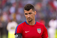 East Hartford, CT - Saturday July 01, 2017: Eric Lichaj during an international friendly match between the men's national teams of the United States (USA) and Ghana (GHA) at Pratt & Whitney Stadium at Rentschler Field.