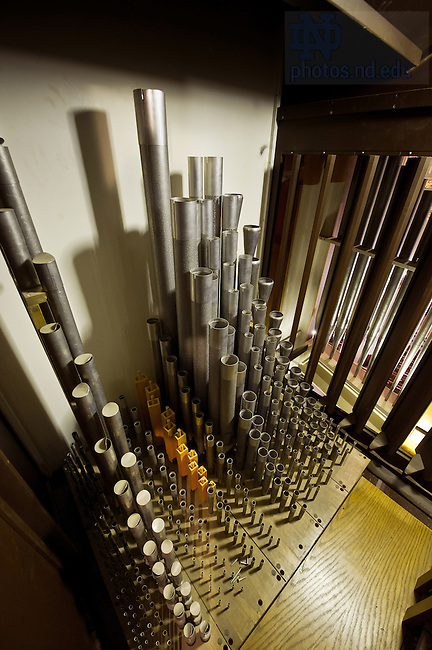 Dec. 5, 2012; Pipe organ in the Basilica of the Sacred Heart..Photo by Matt Cashore/University of Notre Dame