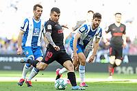 1st March 2020; RCDE Stadium, Barcelona, Catalonia, Spain; La Liga Football, Real Club Deportiu Espanyol de Barcelona versus Futbol Club Atletico Madrid; Correa of Atletico shoots on goal
