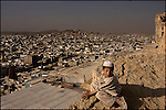 the infamous orangi township slum seen from a nearby mountain top - karachi is expect to be become a mega-city i.e. more than 20 million inhabitants, within the next 5 years
