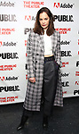 """attends the """"Sea Wall / A Life"""" opening night at The Public Theater on February 14, 2019, in New York City."""