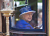 QUEEN RIDES IN CARRIAGE<br /> to the Trooping of the Colour Parade at Horse Guards.<br /> The event marks the Queen's Official Birthday, The Mall, London_15th June 2013<br /> Photo Credit: &copy;Reynolds/NEWSPIX INTERNATIONAL<br /> <br /> **ALL FEES PAYABLE TO: &quot;NEWSPIX INTERNATIONAL&quot;**<br /> <br /> PHOTO CREDIT MANDATORY!!: NEWSPIX INTERNATIONAL<br /> <br /> IMMEDIATE CONFIRMATION OF USAGE REQUIRED:<br /> Newspix International, 31 Chinnery Hill, Bishop's Stortford, ENGLAND CM23 3PS<br /> Tel:+441279 324672  ; Fax: +441279656877<br /> Mobile:  0777568 1153<br /> e-mail: info@newspixinternational.co.uk