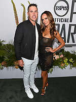 "09 July 2019 - Los Angeles, California - Brooks Koepka, Jena Sims. ESPN ""The ESPYS Official Pre-Party"" held at the Hotel Figueroa. Photo Credit: Billy Bennight/AdMedia"