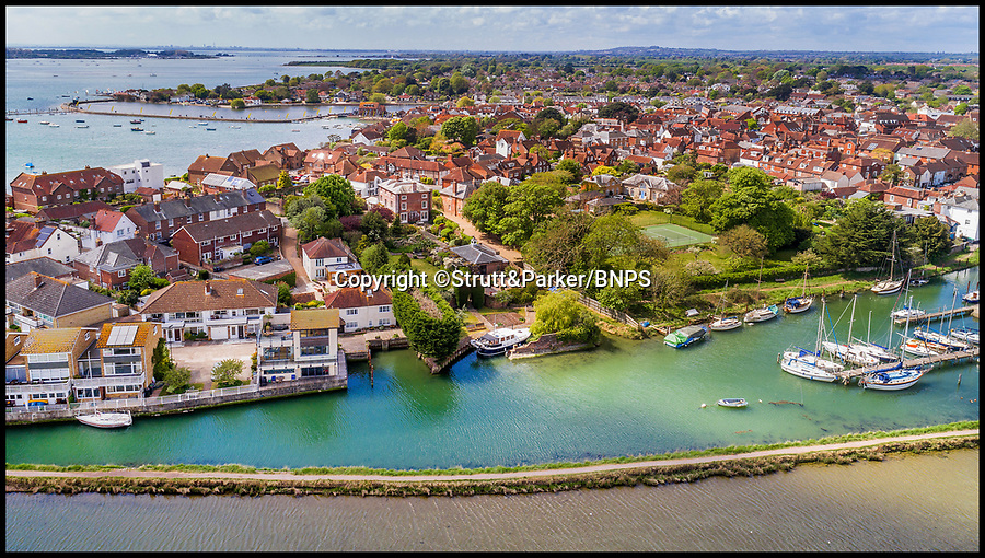 BNPS.co.uk (01202 558833)<br /> Pic: Strutt&amp;Parker/BNPS<br /> <br /> Park your car at the front and your boat out the back.<br /> <br /> Hello Sailor? - The perfect seaside residence for a lover of the sea.<br /> <br /> A luxury harbourside home with its own private dock in the back garden has launched on to the market - but you'll need a pirates treasure to afford it.<br /> <br /> &pound;3.4million Wharf House is located in one of the country's best sailing communities in Emsworth, Hants, and is surrounded by water.<br /> <br /> From the front it has spectacular views over Chichester Harbour and at the back there is a mooring space for a large boat.