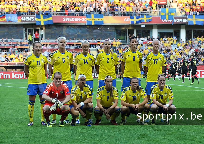 Sweden - Germany : Team Sweden<br /> foto David Catry / nikonpro.be
