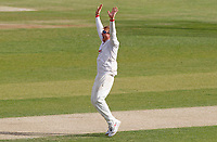Simon Harmer appeals for the wicket of Marcus O'Riordan during Essex CCC vs Kent CCC, Bob Willis Trophy Cricket at The Cloudfm County Ground on 3rd August 2020