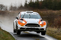 2nd February 2020; Galway, Galway, Ireland; Irish Tarmac Rally Championship, Galway International Rally; Jason McSweeney and Liam Brennan (Ford Fiesta R5) in action