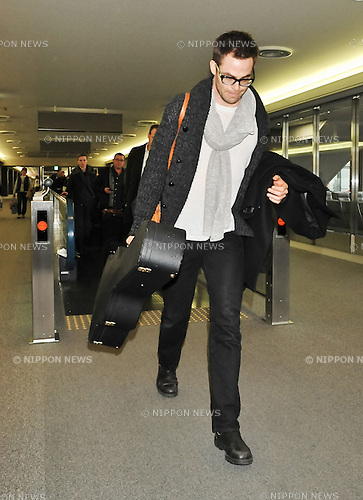 Chris Pine, Dec 03, 2012 : Tokyo, Japan : Actor Chris Pine arrives at Narita International Airport in Chiba prefecture, Japan on December 3, 2012.