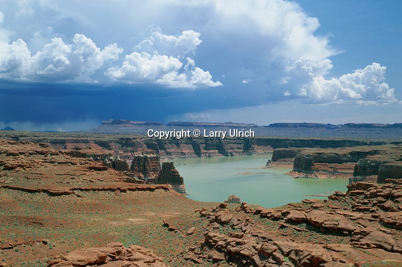 Thunderstorm over Lake Powell<br />   near Hite Marina<br /> Glen Canyon National Recreation Area<br /> Colorado Plateau,  Utah