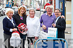 Traders come together to promote Christmas shopping in Cahersiveen pictured l-r; Kitty King, Suzan Turan, Mary Corkery, Willie O'Driscoll & Geoffrey O'Connor.
