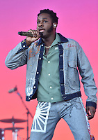 SAN FRANCISCO, CALIFORNIA - AUGUST 11: Leon Bridges performs during the 2019 Outside Lands Music And Arts Festival at Golden Gate Park on August 11, 2019 in San Francisco, California. Photo: imageSPACE/MediaPunch<br /> CAP/MPI/IS/AB<br /> ©AB/IS/MPI/Capital Pictures