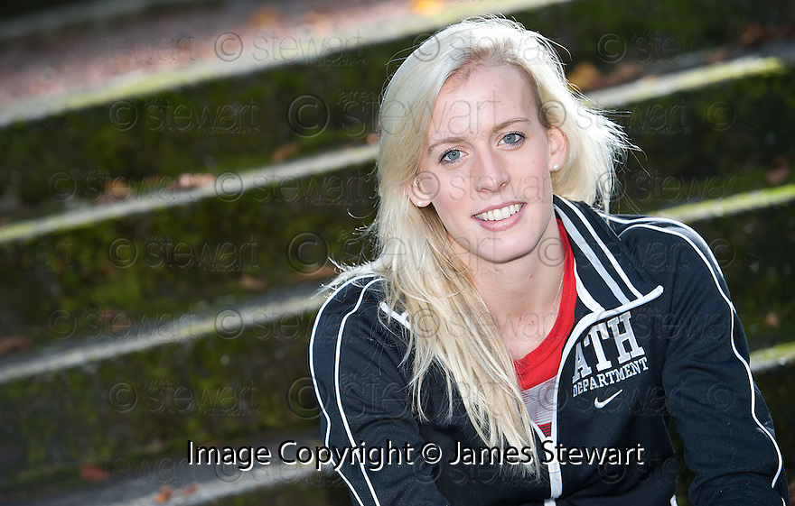 SCOTS ATHLETE LYNSEY SHARP, DAUGHTER OF SCOTS 100M SPRINTER CAMERON SHARP, WHO HAS BEEN NAMED SCOTLAND'S ATHLETE OF THE YEAR AND UNDER 23 ATHLETE OF THE YEAR  FOR 2011.
