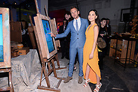 NEW YORK CITY - APRIL 20: Sebastian Roche and Alicia Hannah attend the National Geographic GENIUS: PICASSO Tribeca Film Festival after party at The Genius Studio, 100 Avenue of the Americas, in New York City on April 20, 2018 in New York City.  The Genius: Studio is an interactive installation designed to inspire people to create their own masterpieces. (Photo by Anthony Behar/National Geographic/PictureGroup)
