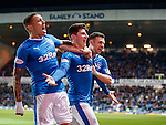 James Tavernier, Emerson Hyndman and Jason Holt celebrate