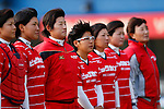 Yukiko Ueno (Bee Queen), APRIL 17, 2016 - Softball : 49th Japan Women's Softball League between Bic Camera Bee Queen 7-1 Honda Reverta at QVC Marine Field, Chiba, Japan. (Photo by Yusuke Nakanishi/AFLO SPORT)