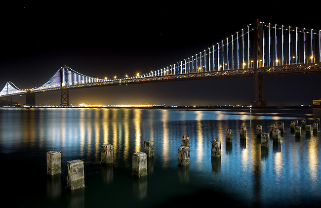 Bay Bridge, San Francisco, CA April 20, 2013....