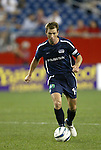 04 September 2004: Steve Ralston during the second half. The San Jose Earthquakes defeated the New England Revolution 1-0 at Gillette Stadium in Foxboro, MA during a regular season Major League Soccer game..