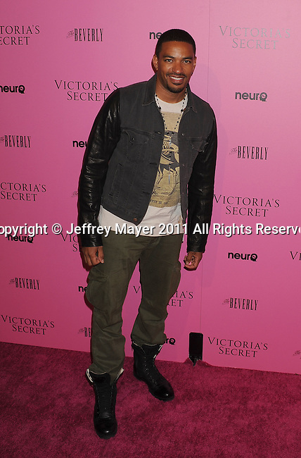 "LOS ANGELES, CA - MAY 12: Laz Alonso arrives to the Victoria's Secret 6th Annual ""What Is Sexy? List: Bombshell Summer Edition"" Pink Carpet Event at The Beverly on May 12, 2011 in Los Angeles, California."