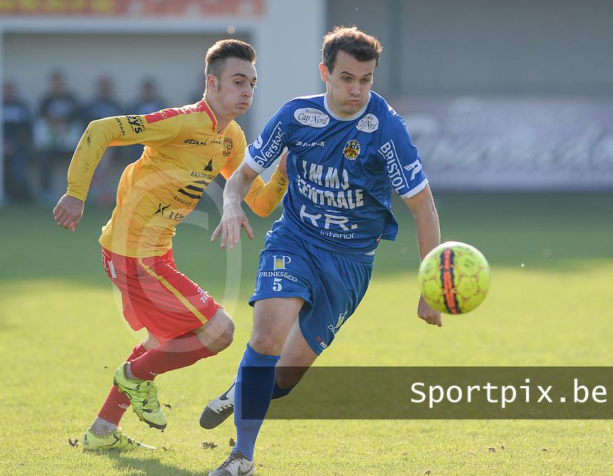 OMS Ingelmunster - FC Knokke  : <br /> Foto VDB / Bart Vandenbroucke
