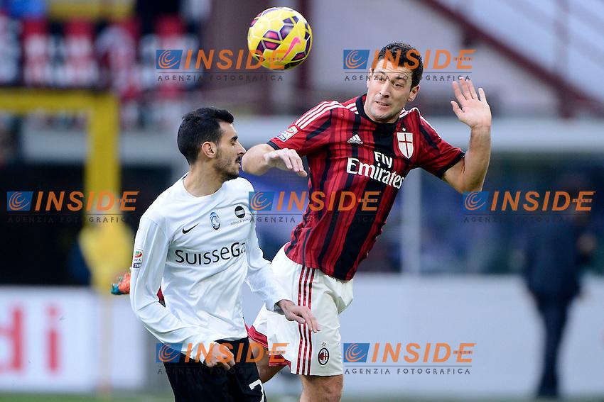 Daniele Bonera Milan<br /> Milano 18-01-2015 Stadio Giuseppe Meazza - Football Calcio Serie A Milan - Atalanta. Foto Giuseppe Celeste / Insidefoto
