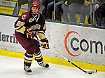 10 January 2009: Boston College Eagles' defenseman Nick Petrecki, a Sophomore from Clifton Park, NY, in action during the second game of a weekend series against the University of Vermont Catamounts at Gutterson Fieldhouse in Burlington, Vermont. The Catamounts rallied from an early 2-0 deficit to defeat the visiting Eagles 4-2. Mandatory Photo Credit: Ed Wolfstein Photo