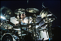 ***FILE PHOTO***  Rush drummer Neil Peart Dies Of Brain Cancer At 67.<br /> Rush performing in Chicago, Illinois. <br /> CAP/MPI/AMB<br /> ©AMB/MPI/Capital Pictures