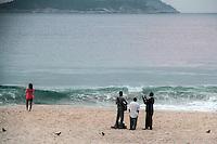 RIO DE JANEIRO; RJ; 14 DE JUNHO 2013 - Movimentação na Praia de Botafogo no Rio de Janeiro na manhã desta sexta-feira, 14. FOTO: NÉSTOR J. BEREMBLUM - BRAZIL PHOTO PRESS.