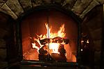 Fireplace at El Tovar Hotel
