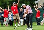 CROMWELL, CT. 20 June 2019-062019 - PGA Tour player Francisco Molinari hits his tee shot, on the seventh hole, during the first round of the Travelers Championship at TPC River Highlands in Cromwell on Thursday. Bill Shettle Republican-American