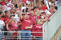 NWA Democrat-Gazette/MICHAEL WOODS • @NWAMICHAELW<br /> Arkansas Razorbacks vs the Texas Tech Red Raiders Saturday September 19, 2015 at Razorback Stadium in Fayetteville.