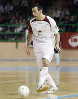 Caja Segovia's Fabian Robledo during Spanish National Futsal League match.November 24,2012. (ALTERPHOTOS/Acero) /NortePhoto