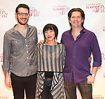 Sound Designer Daniel Kluger, Scenic & Costume Designer Valerie Bart, Lighting Designer Les Dickert attending the Meet & Greet for Tina Packer's 'Women of Will' at The Gym at Judson in New York City on 1/16/2013