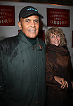 Harry Belafonte and wife Pamela Frank.attending the Broadway Opening Night Performance of 'A Streetcar Named Desire' at the Broadhurst Theatre on 4/22/2012 in New York City.