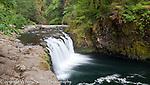 Eagle Creek waterfalls