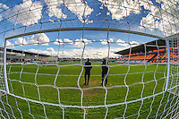 General view of The Hive stadium, home of Barnet Football Club, ahead of the Sky Bet League 2 match between Barnet and Luton Town at The Hive, London, England on 28 March 2016. Photo by David Horn.