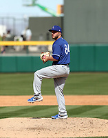 Parker Curry - Los Angeles Dodgers 2020 spring training (Bill Mitchell)