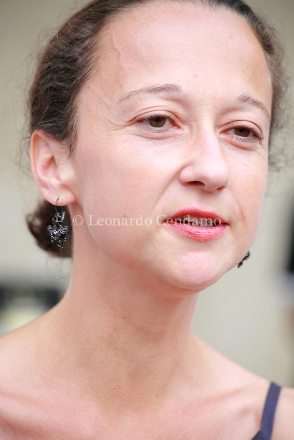 MURIEL BARBERY WRITER DI SUCCESSO NATA A CASABLANCA VIVE A PARIGI  © Leonardo Cendamo