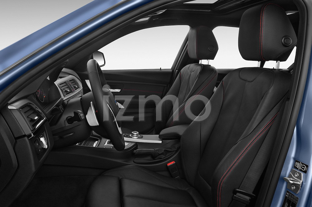 Front seat view of a 2014 BMW SERIES 3 Sport 4 Door Sedan 2WD Front Seat car photos