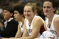 18 March 2006: Krista Rappahahn during Stanford's 72-45 win over Southeast Missouri State in the first round of the NCAA Women's Basketball championships at the Pepsi Center in Denver, CO.
