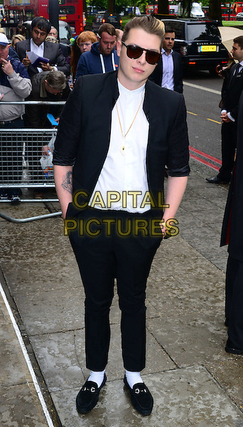 LONDON, ENGLAND - MAY 22:   John Newman attends The Ivor Novello Awards, the 59th annual songwriting and composing awards, at Grosvenor House, 86-90 Park Lane, on May 22, 2014, in London, England.<br /> CAP/JOR<br /> &copy;Nils Jorgensen/Capital Pictures