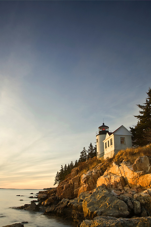 Bass Harbor Head Lighthouse at Acadia National Park, Maine