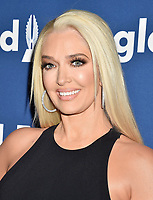 BEVERLY HILLS, CA - APRIL 12: Actress/singer Erika Jayne attends the 29th Annual GLAAD Media Awards at The Beverly Hilton Hotel on April 12, 2018 in Beverly Hills, California.<br /> CAP/ROT/TM<br /> &copy;TM/ROT/Capital Pictures