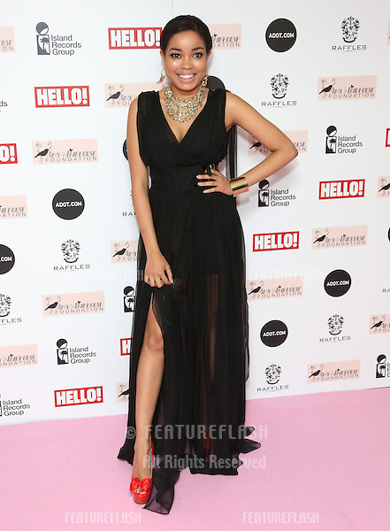 Dionne Bromfield arriving at the The Amy Winehouse foundation ball held at the Dorchester hotel, London. 20/11/2012 Picture by: Henry Harris / Featureflash