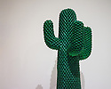 "POP ART DESIGN exhibition opens at the Barbican Art Gallery and runs from 22nd October to 9th February 2014. Picture shows: ""Cactus"", first series, 1972, by Guido Droco, Franco Mello. Manufactured by Gufram. Photograph © Jane Hobson."