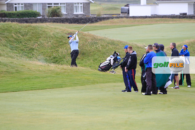 Colin Fairweather (Knock) on the 15th fairway during the Final Round of the South of Ireland Amateur Open Championship at LaHinch Golf Club on Sunday 26th July 2015.<br /> Picture:  Golffile | Thos Caffrey