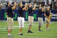 1 September 2011:  FIU's band performs prior to the start of the game.  The FIU Golden Panthers defeated the University of North Texas, 41-16, at FIU Stadium in Miami, Florida.