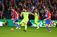 Emre Can and Yohan Cabaye during the EPL - Premier League match between Crystal Palace and Liverpool at Selhurst Park, London, England on 29 October 2016. Photo by Steve McCarthy.